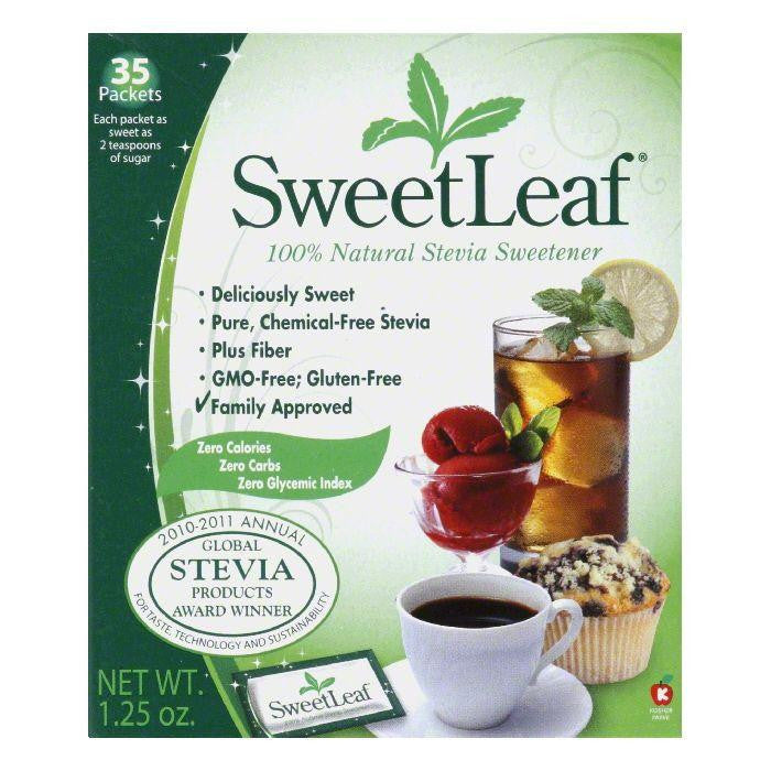 Sweetleaf Sweetener Packets 35 ct, 35 PC (Pack of 12)