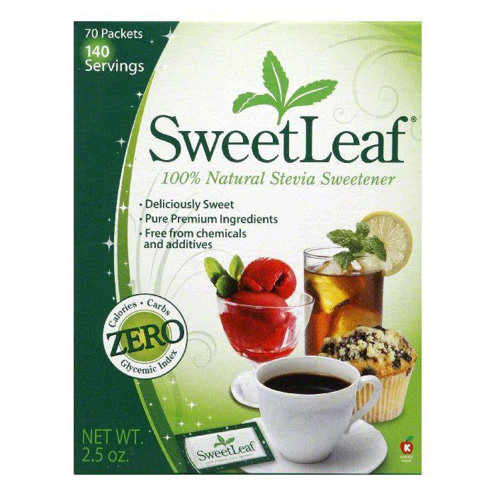 Sweetleaf Sweetener Packets 70 ct, 70 PC (Pack of 12)