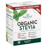 SweetLeaf Organic Stevia Sweetener, 70 Pc (Pack of 12)