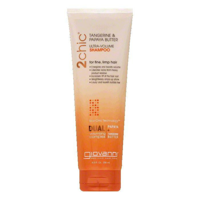 Giovanni Tangerine & Papaya Butter Ultra-Volume Shampoo, 8.5 Oz (Pack of 3)