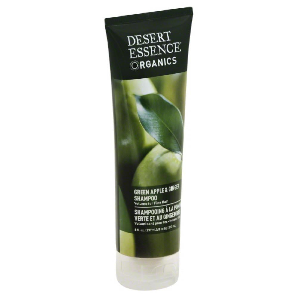 Desert Essence Green Apple & Ginger Shampoo, 8 Oz