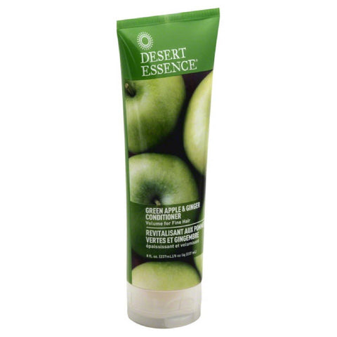 Desert Essence Green Apple & Ginger Conditioner, 8 Oz