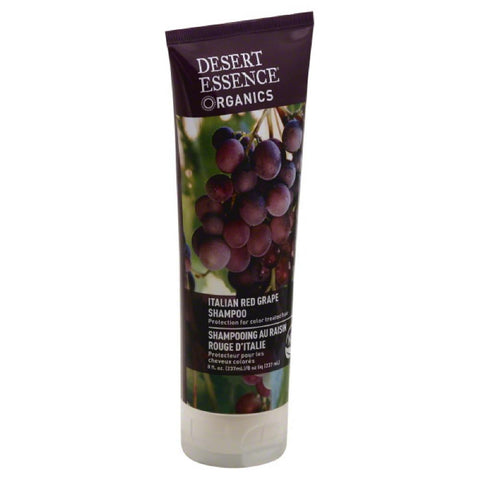 Desert Essence Italian Red Grape Shampoo, 8 Oz