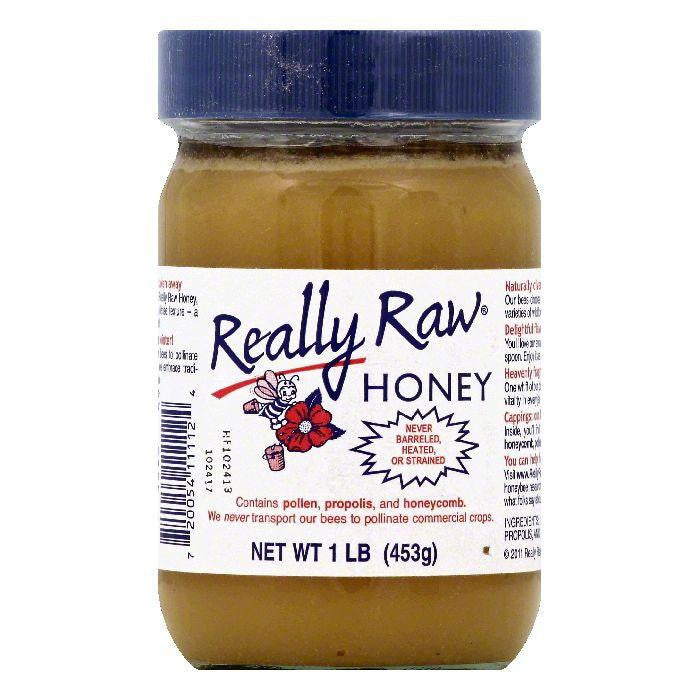 Really Raw Honey, 1 lb (Pack of 12)