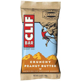 CLIF Bar Crunchy Peanut Butter Energy Bar 2.4 Oz (Pack of 12)