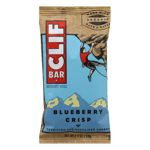 Clif Bar Blueberry Crisp, 2.4 OZ (Pack of 12)