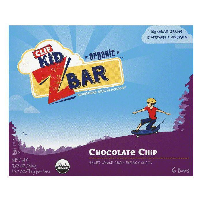 Clif Bar ZBar Chocolate Chip, 7.62 OZ (Pack of 9)