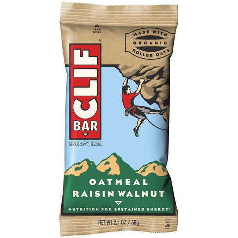 CLIF Bar Oatmeal Raisin Walnut Energy Bar 2.4 Oz (Pack of 12)