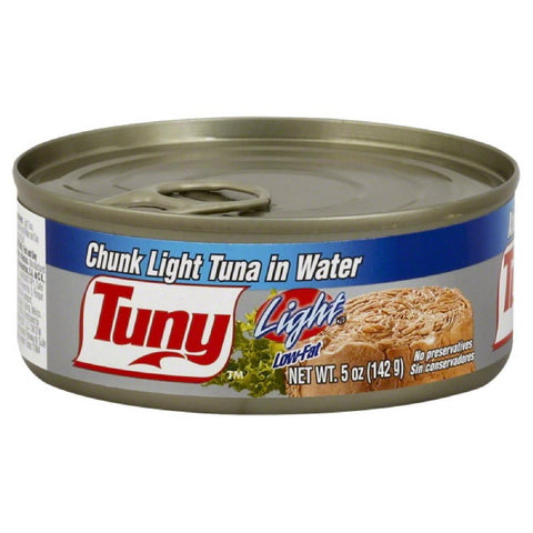 Tuny Chunk Light Tuna in Water, 5 Oz (Pack of 24)