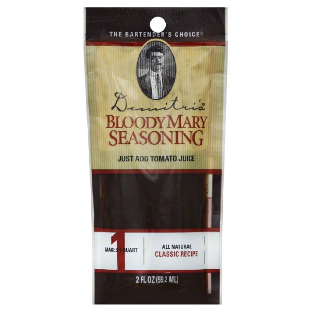 Demitris Classic Recipe Bloody Mary Seasoning, 2 Oz (Pack of 20)