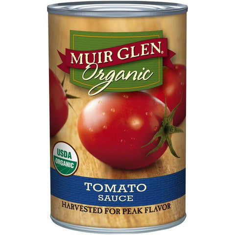 Muir Glen Organic Tomato Sauce 15 Oz (Pack of 12)