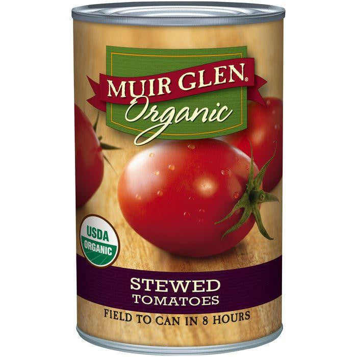 Muir Glen Organic Stewed Tomatoes 28 Oz (Pack of 6)