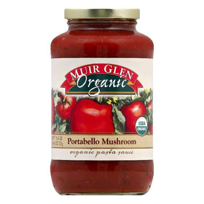 Muir Glen Portabello Mushroom Pasta Sauce, 25.5 OZ (Pack of 6)