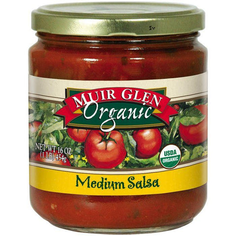 Muir Glen Organic Medium Salsa 16 Oz (Pack of 6)