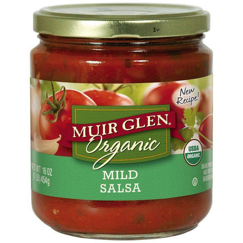 Muir Glen Organic Mild Salsa 16 Oz (Pack of 6)