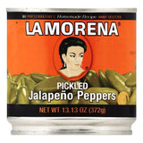 La Morena Pickled Jalapeno Peppers, 13.13 OZ (Pack of 6)