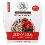 Cucina & Amore Spicy Jalapeno & Piquillo Quinoa Meal, 7.4 OZ (Pack of 6)