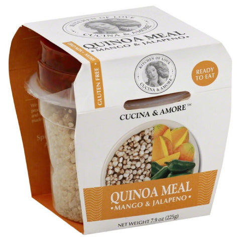 Cucina & Amore Mango & Jalapeno Quinoa Meal, 7.9 Oz (Pack of 6)