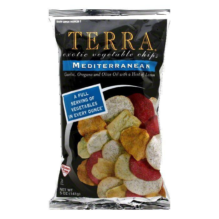 Terra Chips Chip Exotic Mediterranean, 5 OZ (Pack of 12)