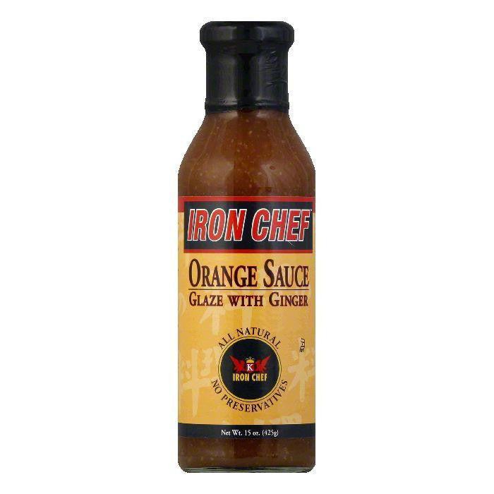 Iron Chef Orange Ginger Sauce, 15 OZ (Pack of 6)