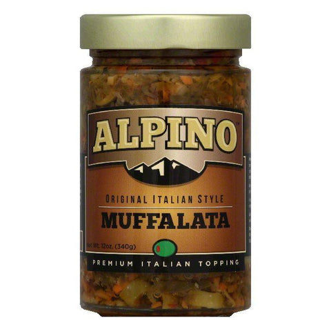 Alpino Original Italian Style Muffalata, 12 Oz (Pack of 6)