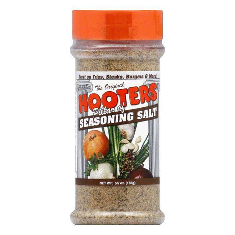 Hooter's Seasoning Salt, 6.5 OZ (Pack of 6)