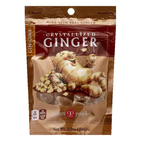 The Ginger People Crystallized Ginger, 3.5 OZ (Pack of 24)