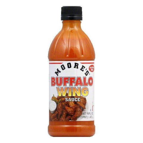 Moore's Buffalo Wing Sauce, 16 FO (Pack of 6)