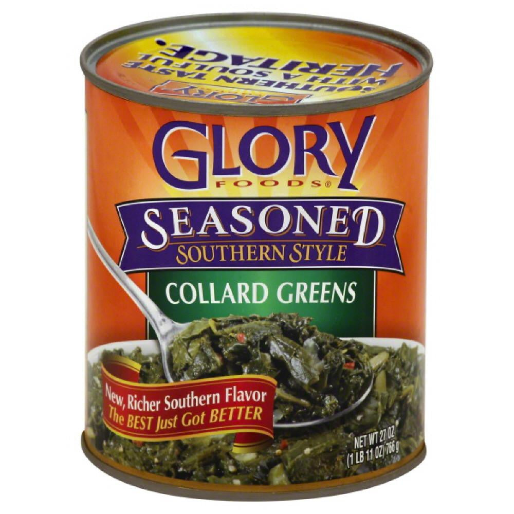 Glory Foods Collard Greens, 27 Oz (Pack of 12)
