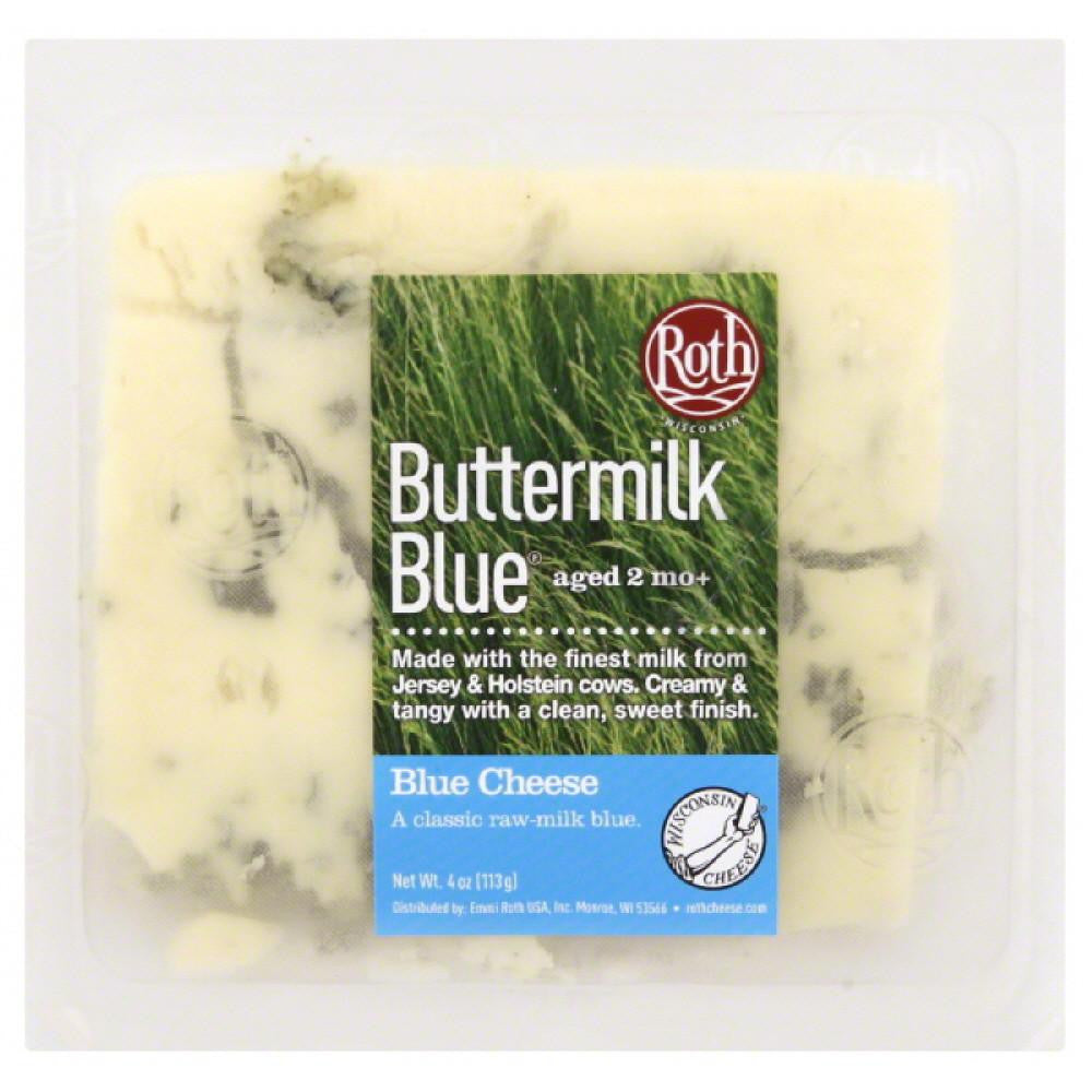 Roth Buttermilk Blue Blue Cheese, 4 Oz (Pack of 12)