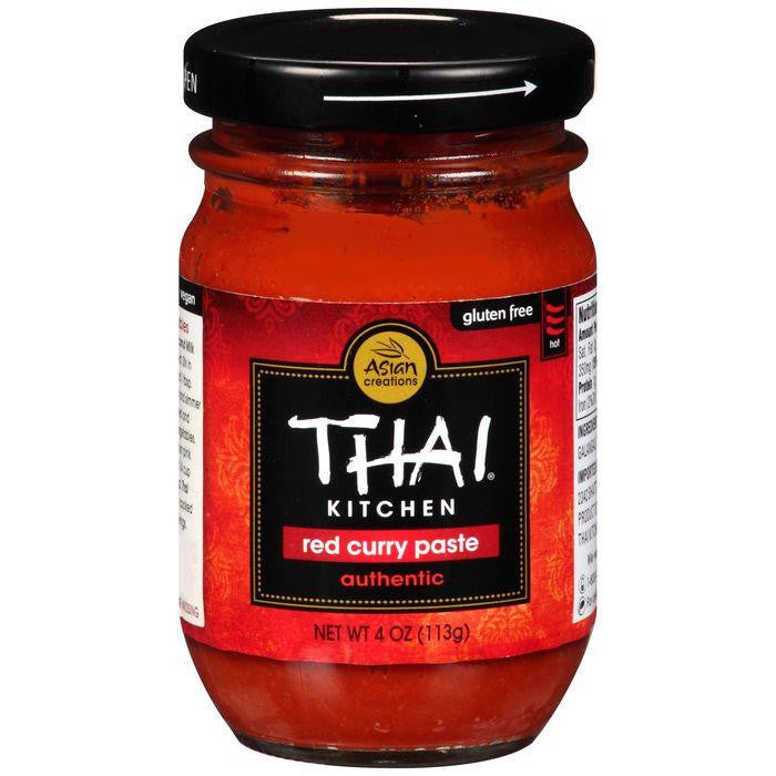 Thai Kitchen Red Curry Paste 4 Oz  (Pack of 12)