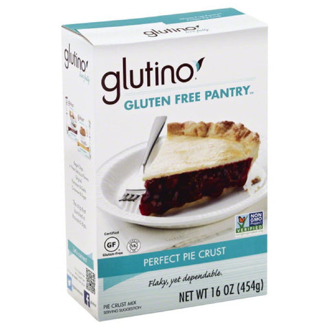 Glutino Perfect Pie Crust Pie Crust Mix, 16 Oz (Pack of 6)