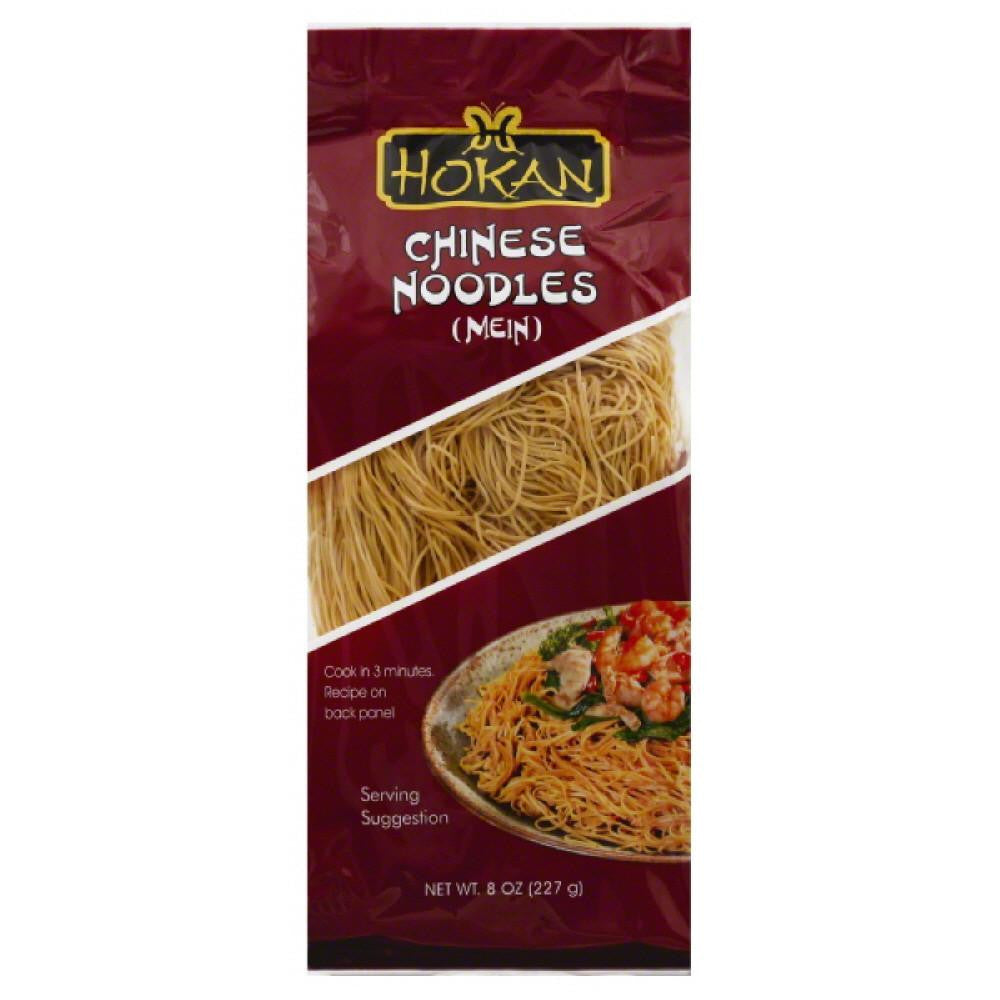 Hokan Chinese (Mein) Noodles, 8 Oz (Pack of 12)