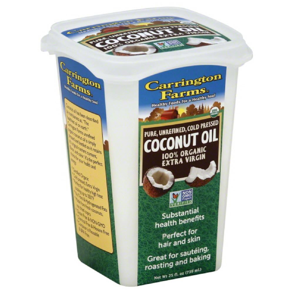 Carrington Farms Coconut Oil, 25 Oz (Pack of 6)
