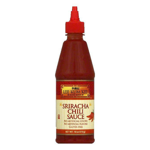 Lee Kum Kee Sriracha Chili Sauce, 18 OZ (Pack of 12)