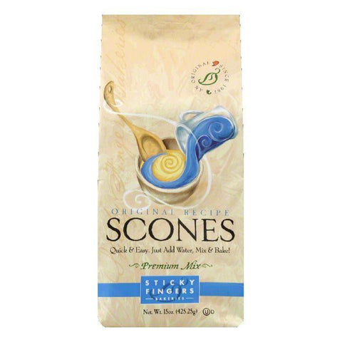 Sticky Fingers Scones Original, 15 OZ (Pack of 6)
