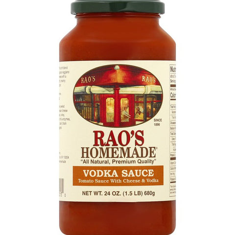 Rao's Sauce Vodka, 24 OZ (Pack of 6)