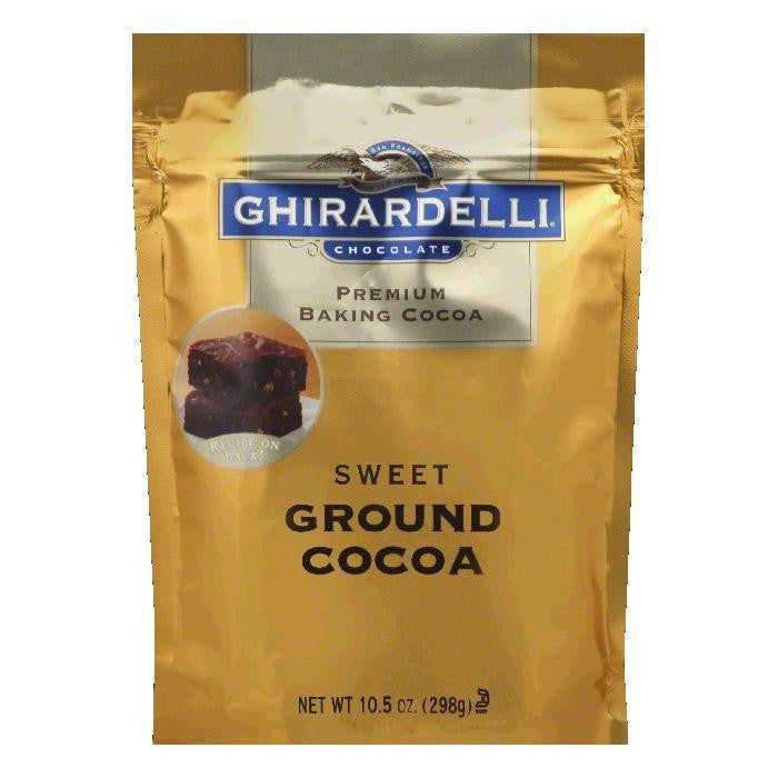 Ghirardelli Cocoa Baking Sweet Ground Pouch, 10.5 OZ (Pack of 6)