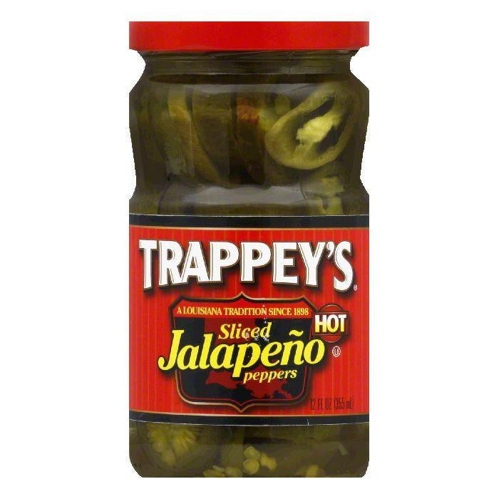 Trappey's Peppers Jalapeno Sliced, 12 OZ (Pack of 6)