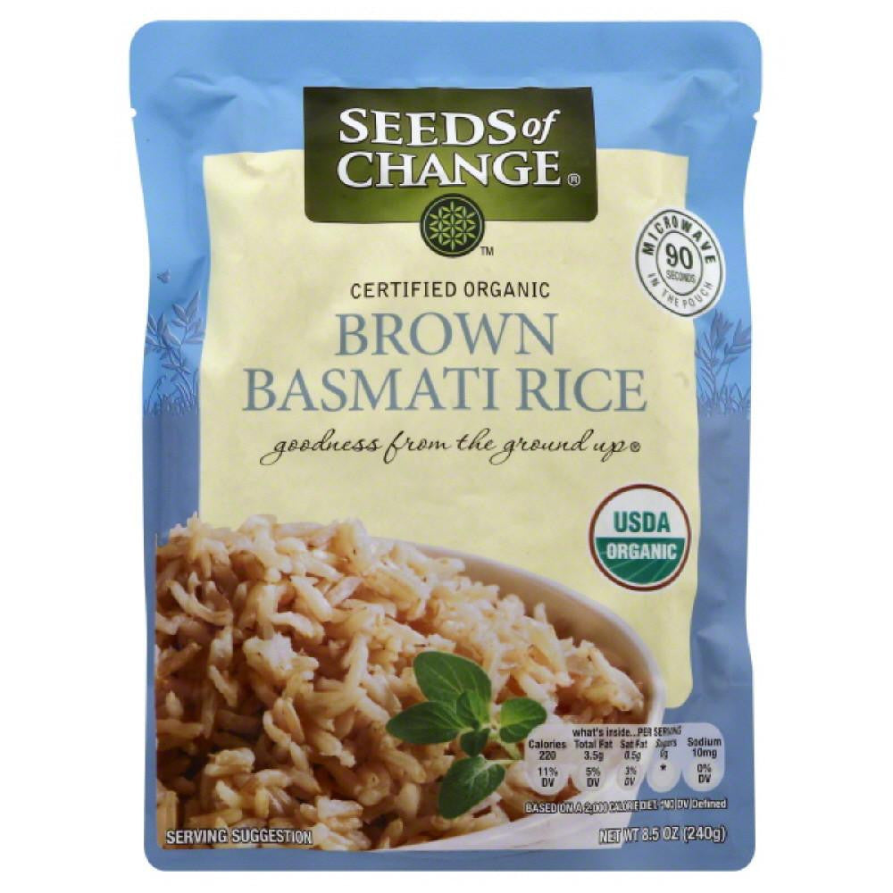 Seeds Of Change Basmati Brown Rice, 8.5 Oz (Pack of 12)