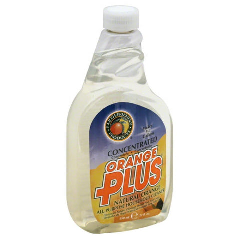Earth Friendly Natural Orange Concentrated All Purpose Household Cleaner, 22 Oz (Pack of 6)
