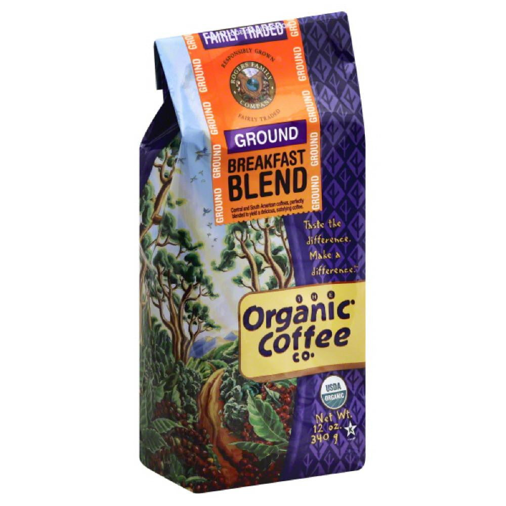 Organic Coffee Breakfast Blend Ground Coffee, 12 Oz (Pack of 6)