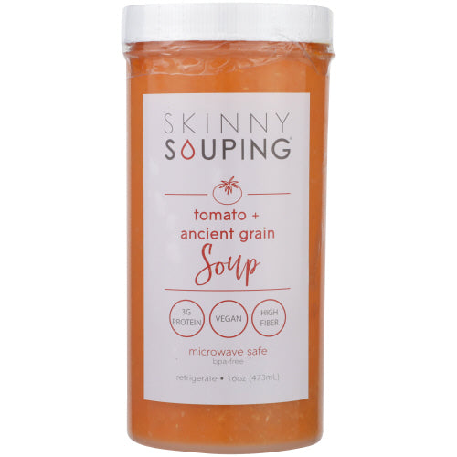 Skinny Souping, Tomato and Ancient Grains, 16oz (Pack of 6)
