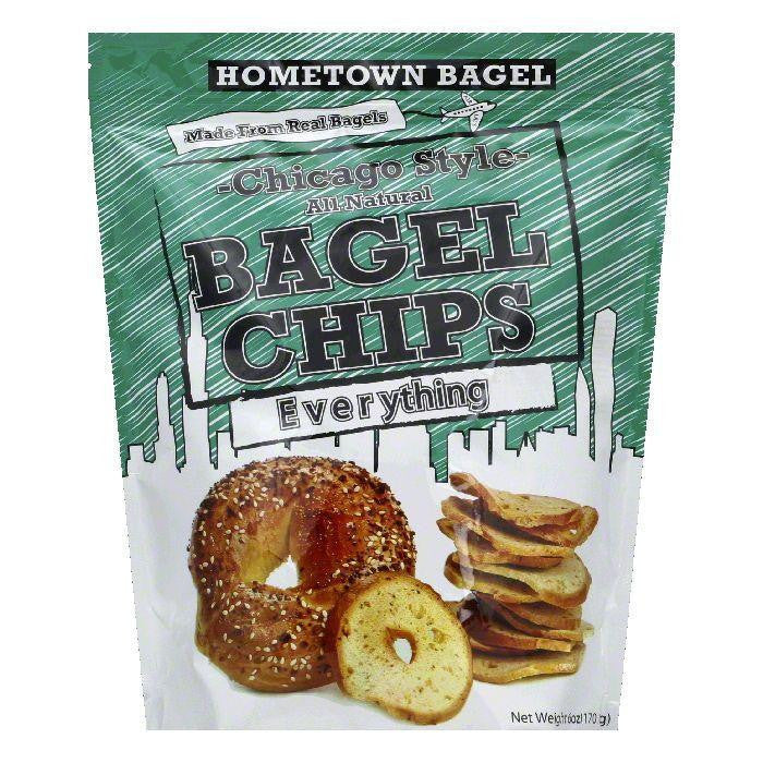 Hometown Bagel Chip Bagel Everything, 6 OZ (Pack of 12)