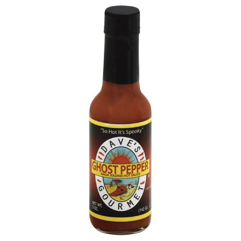 Daves Gourmet Insane ++ Ghost Pepper Naga Jolokia Hot Sauce, 5 Oz (Pack of 12)