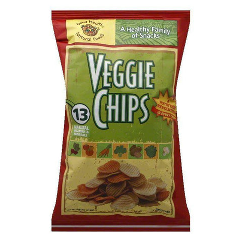 Good Health Chip Veggi, 6.75 OZ (Pack of 10)