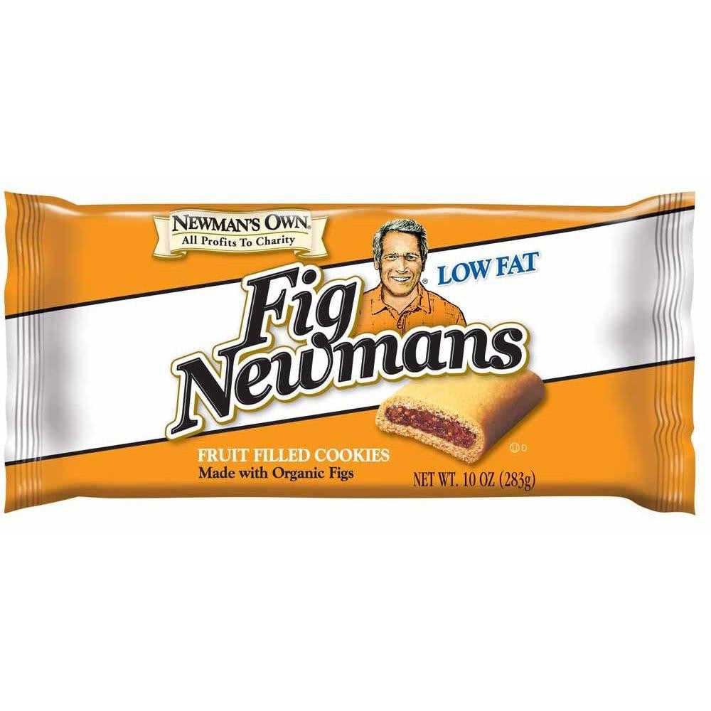 Newman's Own Organics Low Fat Fig Newman's, 10 OZ (Pack of 6)