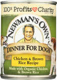 Newmans Own Organics Chicken Brown Rice Can Food, 12.7 OZ (Pack of 6)