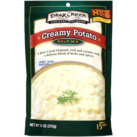 Bear Creek Country Kitchens Creamy Potato Soup Mix 11 Oz (Pack of 6)