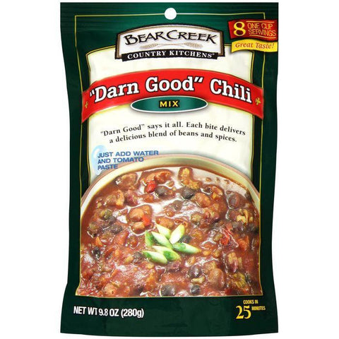 "Bear Creek Country Kitchens ""Darn Good"" Chili Mix 9.8 Oz (Pack of 6)"